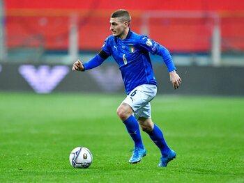 Marco Verrati, atout majeur pour l'Italie et Mancini, sera-t-il rétabli pour jouer contre la Suisse ?