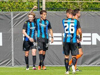 Répétition générale pour le Club de Bruges face à Utrecht avant la Supercoupe contre Genk
