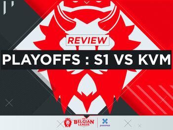Belgian League : KVM Esports sécurise sa place en finale