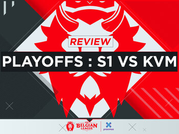Belgian League: KVM plaatst zich voor finale