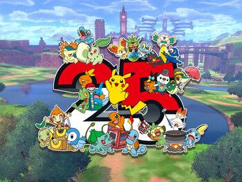 L'actualité Pokémon 2021 : le 25ème anniversaire de la licence !
