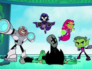 """Faites la connaissance des ados super-héros de """"Teen Titans Go!"""""""