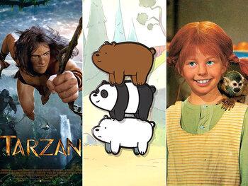 All Kids presenteert … Pippi Langkous, Tarzan én een leuke weekendspecial!