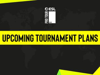 Le calendrier de l'ESL Pro Tour est mis à jour