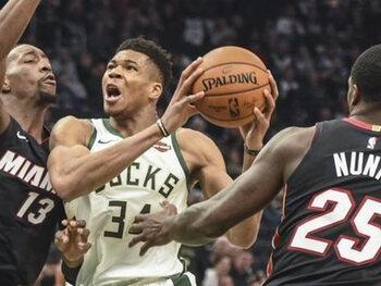 De Milwaukee Bucks zullen op hun hoede moeten zijn voor Miami Heat