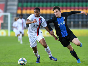 Club Brugge ook tegenover PSG in Youth League