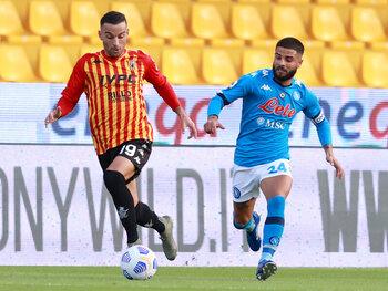Les frères Insigne se retrouvent pour le derby entre Naples et Benevento