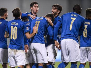 Italië staat op een zucht van de Final Four