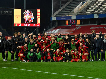 Red Flames bemachtigen plaatsje op EK 2022: wat zullen de ambities zijn?