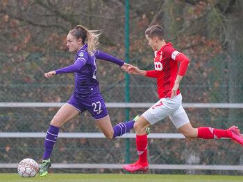 Anderlecht speelt met titel op zak tegen Standard Fémina