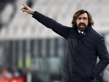 Het Juventus van Pirlo schiet recht op doel