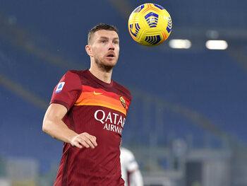 Edin Dzeko blijft bij Roma