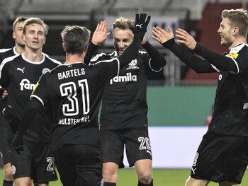 Kan Holstein Kiel tegen Dortmund nog eens stunten in de Duitse beker?