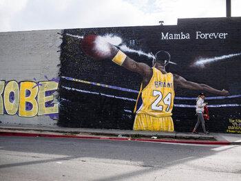 Kobe Bryant in de Hall of Fame van de NBA
