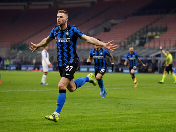De match die Inter Milaan aan de titel hielp: tegen Atalanta en met hulp van Skriniar