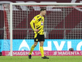 Thomas Meunier wist de harten van de fans van Dortmund nog niet te veroveren