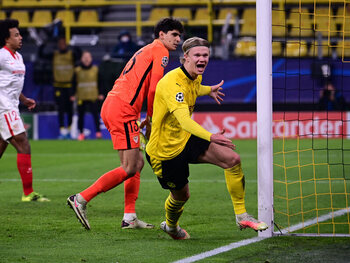 Manchester City en Dortmund bekampen elkaar in de Champions League… voor de strijd losbarst rond Haaland?