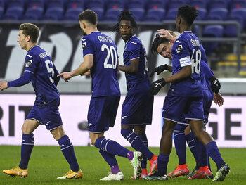 Anderlecht a encore une chance d'obtenir son billet pour les play-offs I
