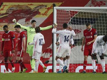 """Liverpool se heurte au """"mur"""" madrilène Thibaut Courtois"""