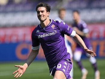 Dušan Vlahovic is de nieuwste sensatie bij Fiorentina