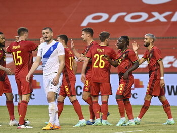 Hazard, Carrasco et Doku s'illustrent en amical contre la Grèce