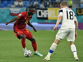 Jérémy Doku scoorde punten tegen Finland