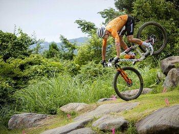 Dit is de reden waarom Mathieu van der Poel ten val kwam met zijn mountainbike