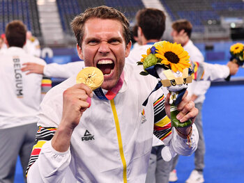 "Vincent ""The Wall"" Vanasch keept na shoot-outs Red Lions naar felbegeerde gouden medaille"