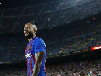 Memphis Depay op weg om de fans van FC Barcelona nu al te overtuigen