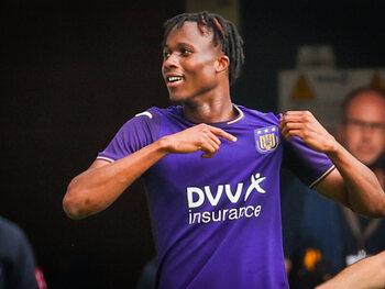 Gooit Christian Kouamé de rollen om in de voorhoede van Anderlecht?