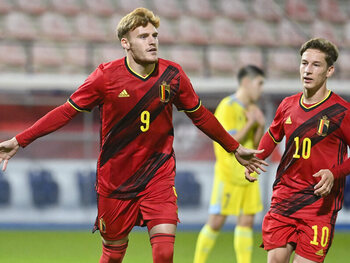 Rode Duivels U21 staan tegenover Denemarken