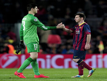 Messi versus Courtois: wie trekt aan het langste eind in de Clasico?