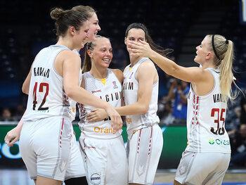 Le 1/4 de l'Euro féminin de basket entre la Belgique et la France sera diffusé sur La Deux