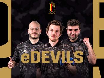 Livestream: De barragewedstrijden van de eDevils - eEuro 2021