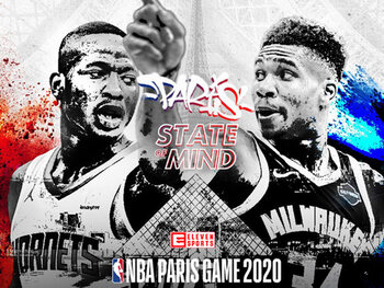 Bekijk de NBA Paris Game live op 24 januari via Eleven Sports
