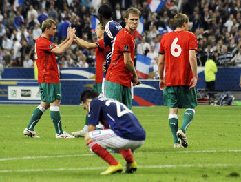 Quand la Biélorussie créait l'exploit en s'imposant au Stade de France