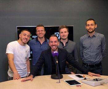 Kylian Hazard est l'invité de Vincenzo Ciuro dans Le Grand Débrief du lundi 11 novembre