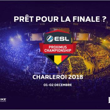 Finales ESL Proximus Championship