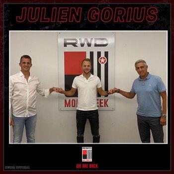 Julien Gorius maakt de cirkel rond en gaat weer aan de slag bij RWDM