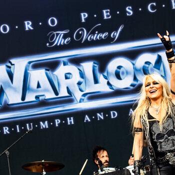 Doro Pesch the voice of WARLOCK celebrating Triumph and Agony - Graspop