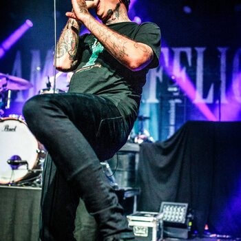 The Amity Affliction @ Trix, Antwerpen