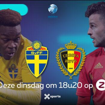 Zweden - België U21