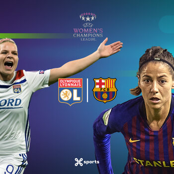 Lyon - Barcelona UEFA Women's Champions League