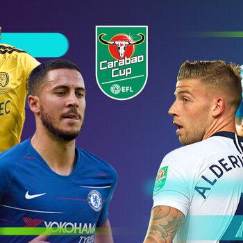 EFL Cup halve finales