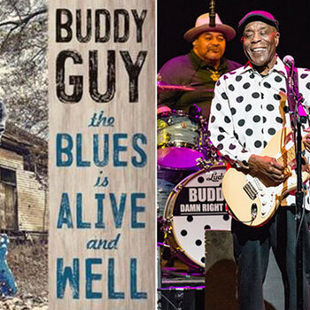 Buddy guy the blues is alive and well nouvel album blues
