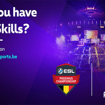 E sports CS go competition esl proximus championship