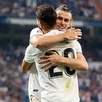 Asensio en Bale