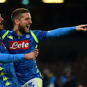 Dries Mertens Champions League