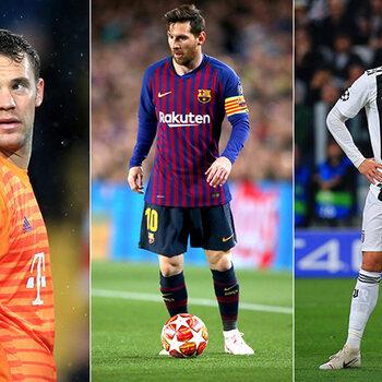 Bayern, Barcelona, Juventus