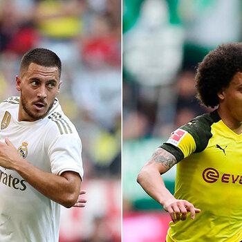 Hazard Real, Witsel Dortmund